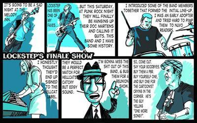 Barfly: Lockstep's final show