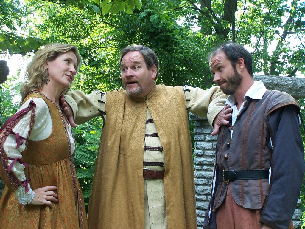 Shakespeare and HART in the park