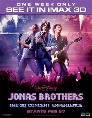 Jonas Brothers 3D Concert Experience