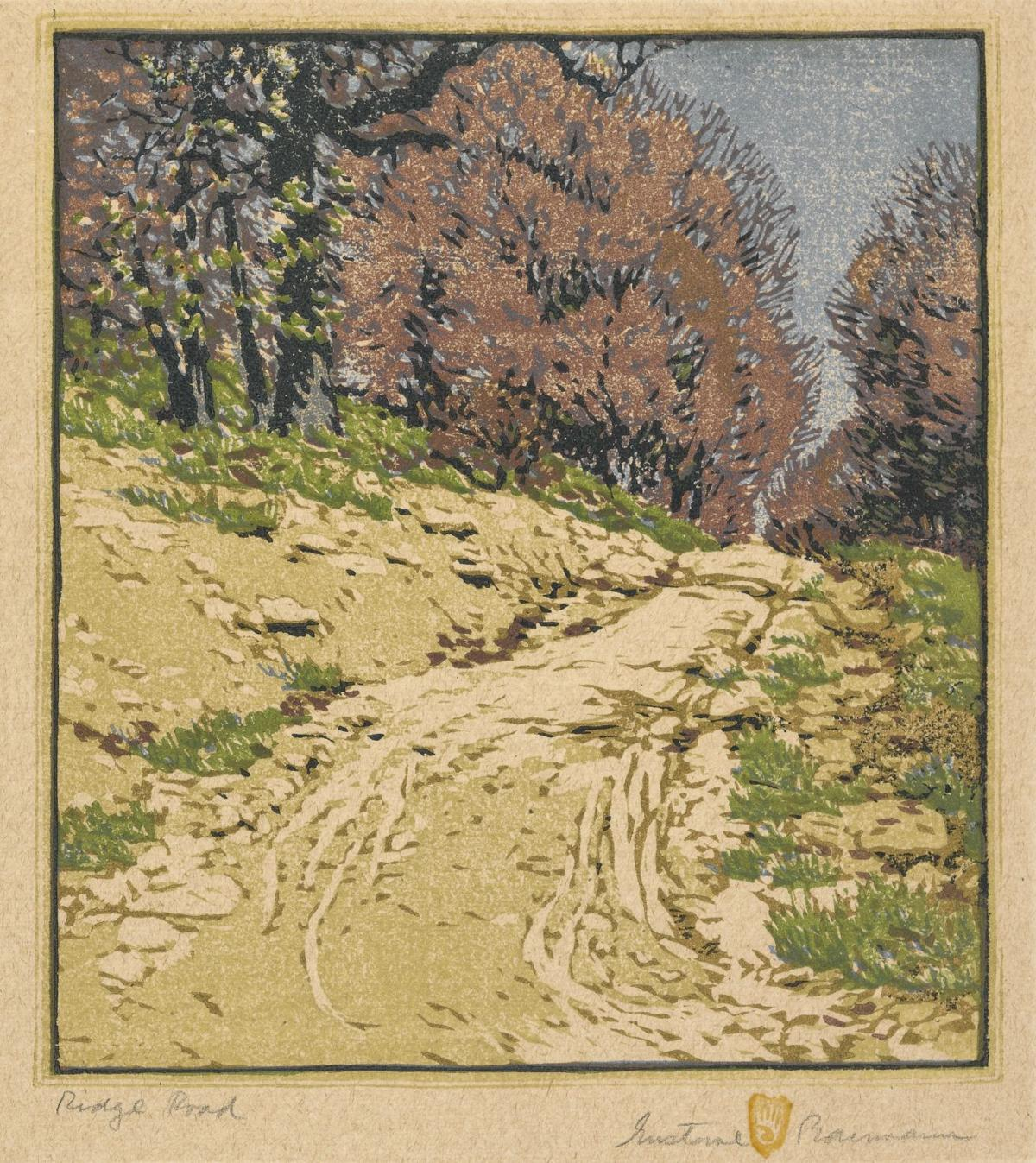 A look behind the IMA's exhibit on Gustave Baumann