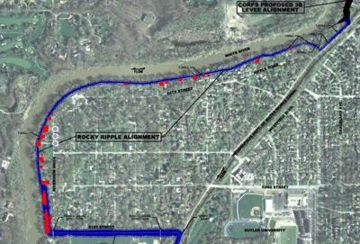 Flood management plans rile Rocky Ripple