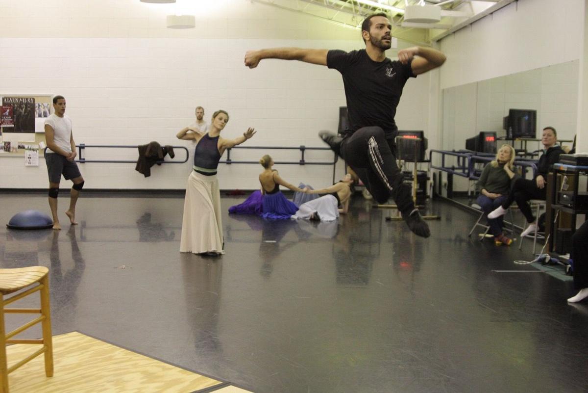 Dance Kaleidoscope practice session