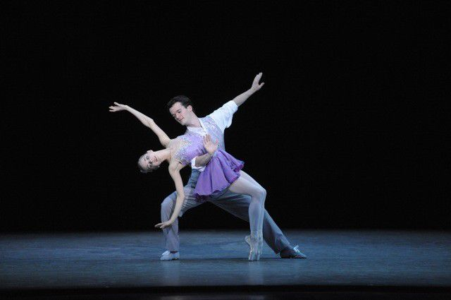 Review: IU Ballet's 'New York' homage