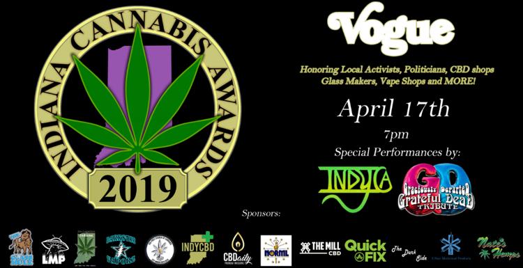 Cannabis Awards Flyer