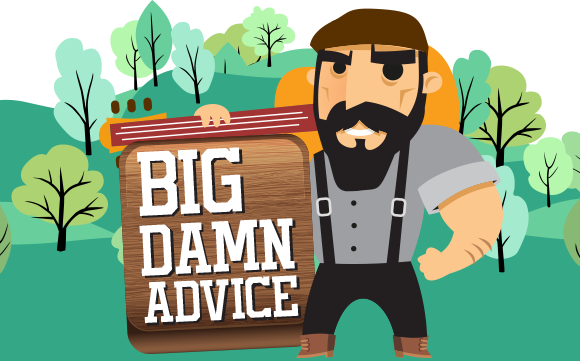 Big Damn Advice: Suspenders and sellin' everything you own
