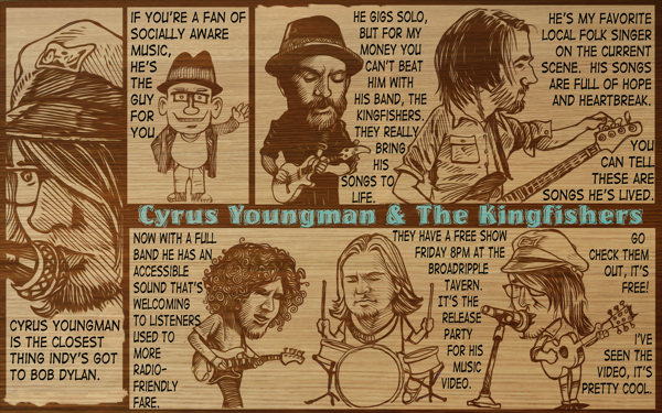 Barfly: Cyrus Young and The Kingfishers
