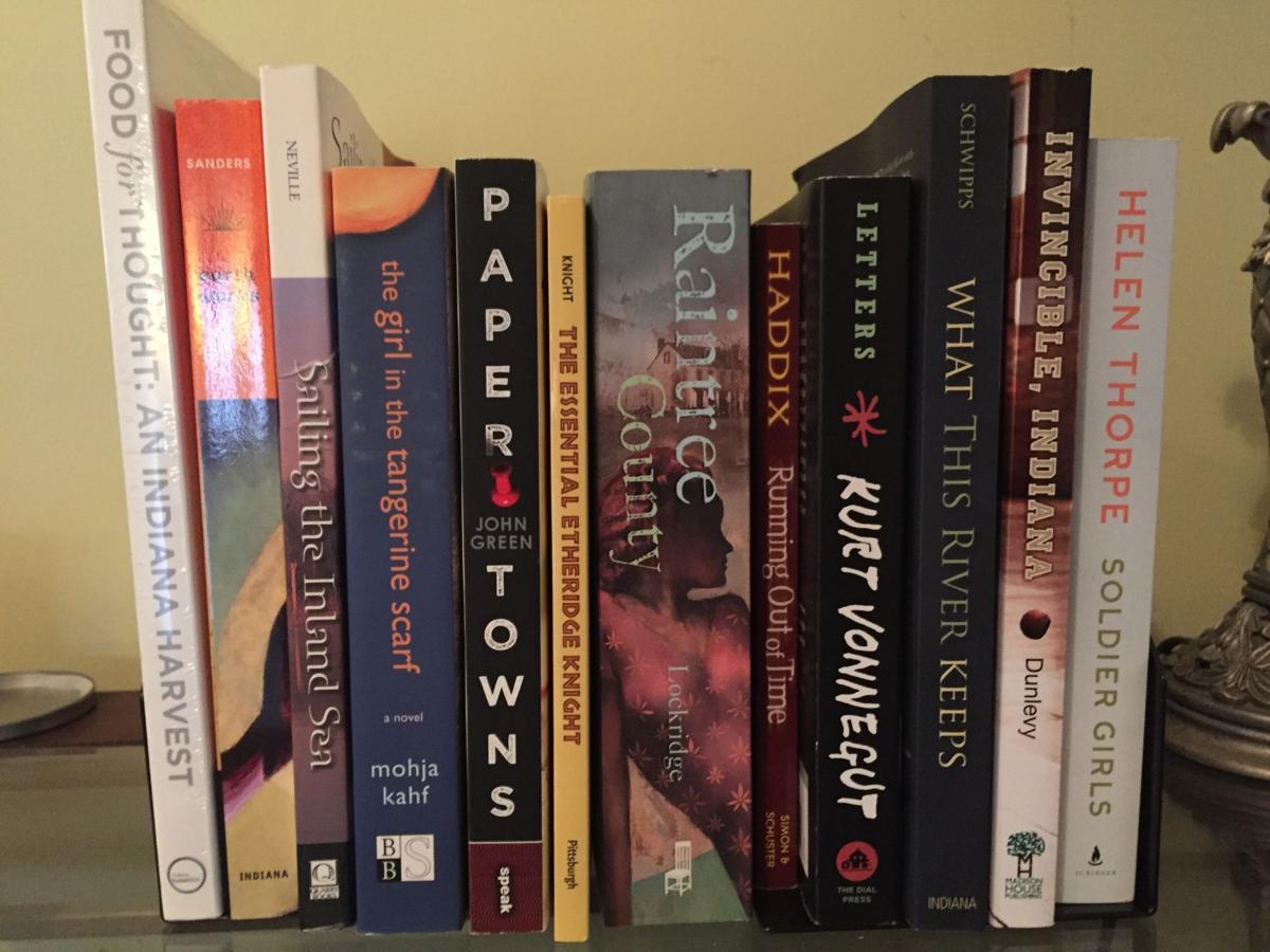 Schools and community organizations receive the Indiana 'Bookshelf'