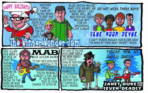 Barfly: Winter Wonder-Jam
