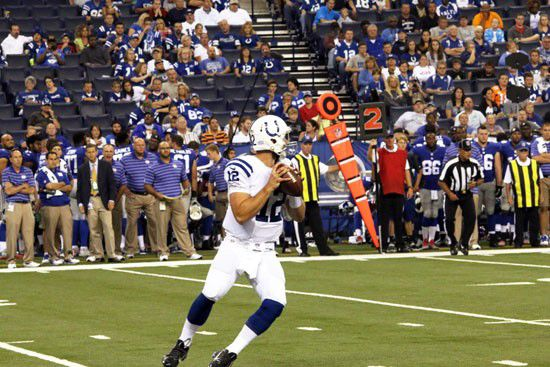 Andrew Luck conquers all!
