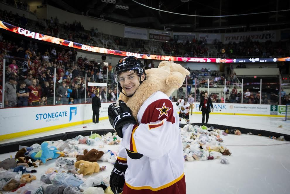 Indy Fuel hosts Teddy Bear Toss to benefit Indy kids