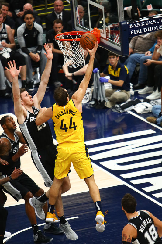 Bojan Bogdanovic (44) Pacers Forward