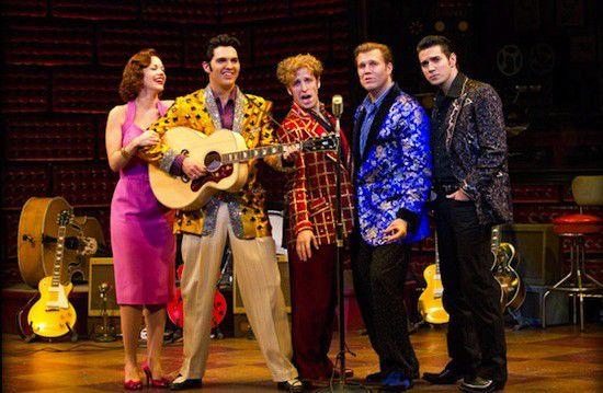 Review: 'Million Dollar Quartet' at Murat Theatre