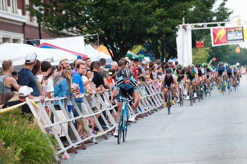 A firsthand account of the Mass Ave Criterium