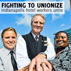 Fighting to unionize