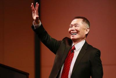 George Takei at Butler: Oh myyyy, indeed