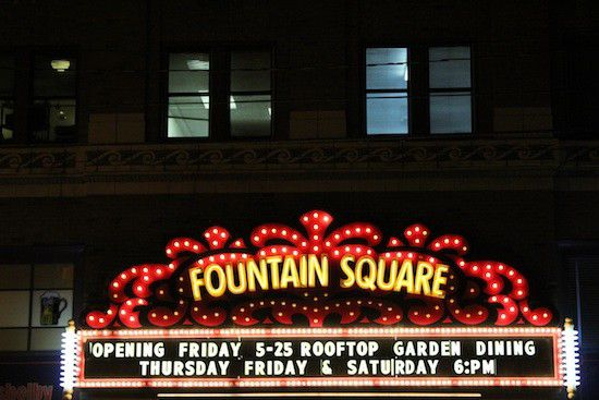Total freakout: Cataracts back in Fountain Square