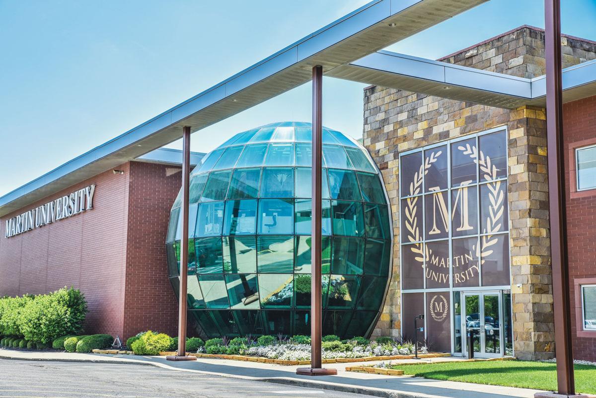 Martin University-Facade