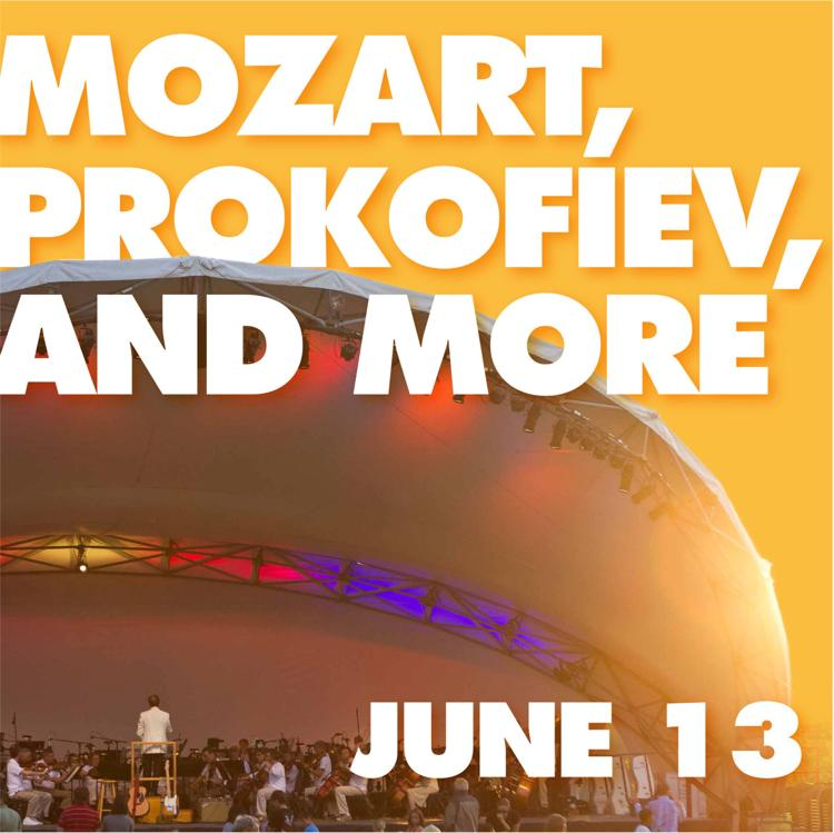 Kroger Symphony On The Prairie: Mozart, Prokofiev, And More!