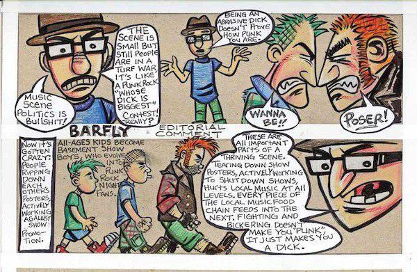 Barfly: Music scene infighting