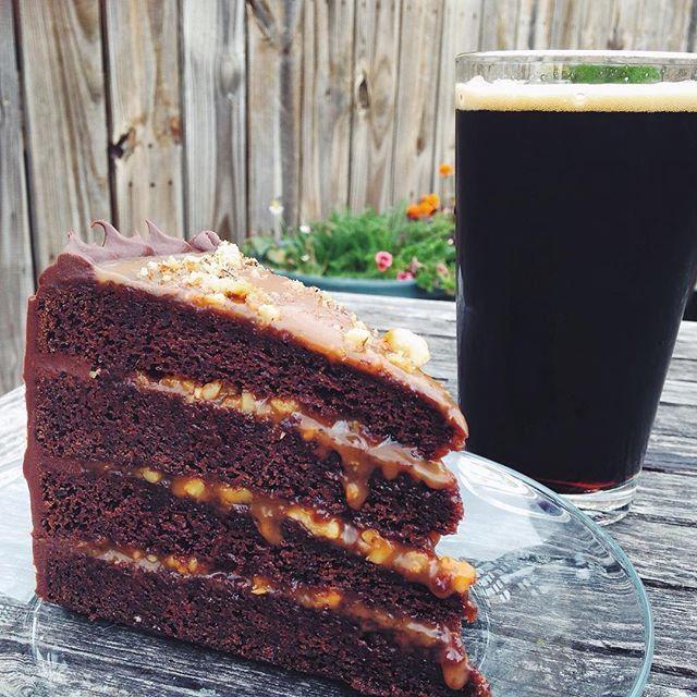 Bad Elmer's Chocolate Cake