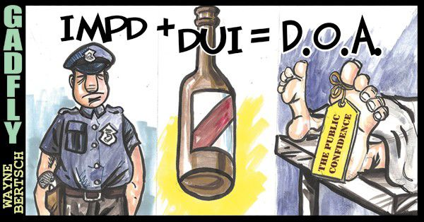 Gadfly: DUI cop