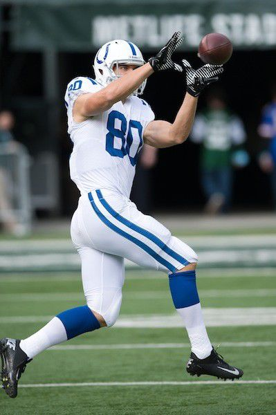 Q&A: Colts tight end Coby Fleener