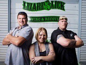 'Lizard Lick Towing' on truTV