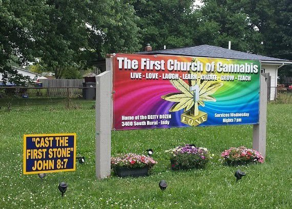 Updates on the First Church of Cannabis