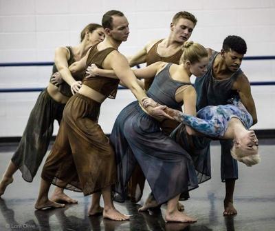 Dance Kaleidoscope in Rehearsal