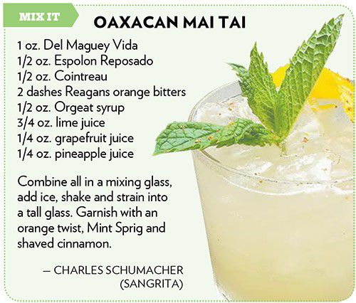 #NationalTequilaDay: Charles Schumacher's Oaxacan Mai Tai