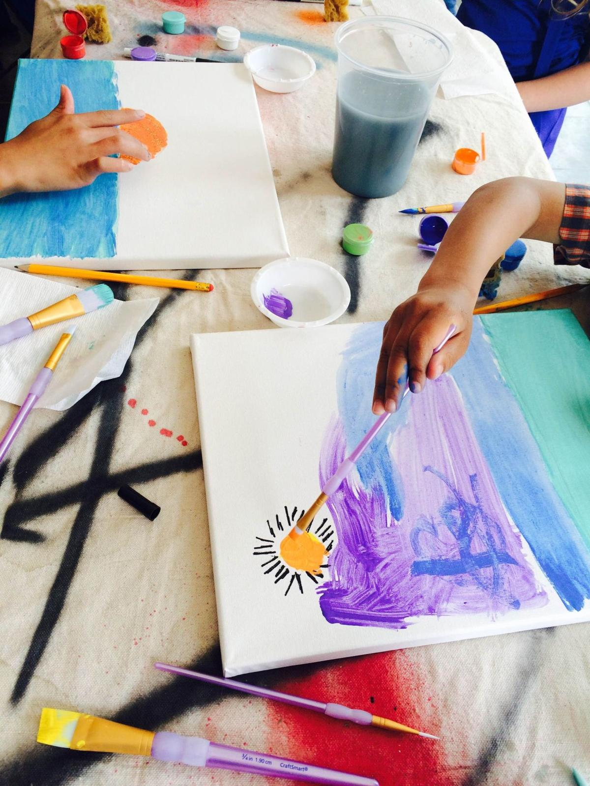 Re-Generation Indy pairs artist mentors with kids
