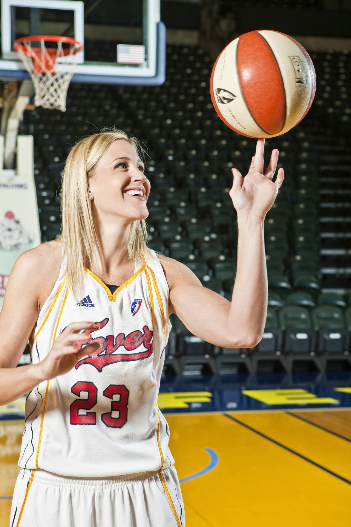 No Spin Zone: Katie Douglas helps Fever get into the swing