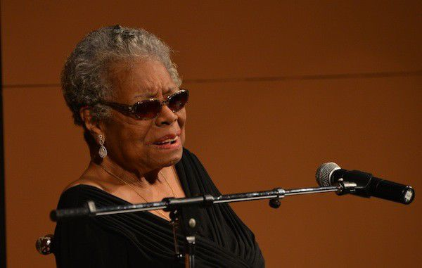 Maya Angelou spends an evening at Clowes