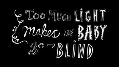 Too much light