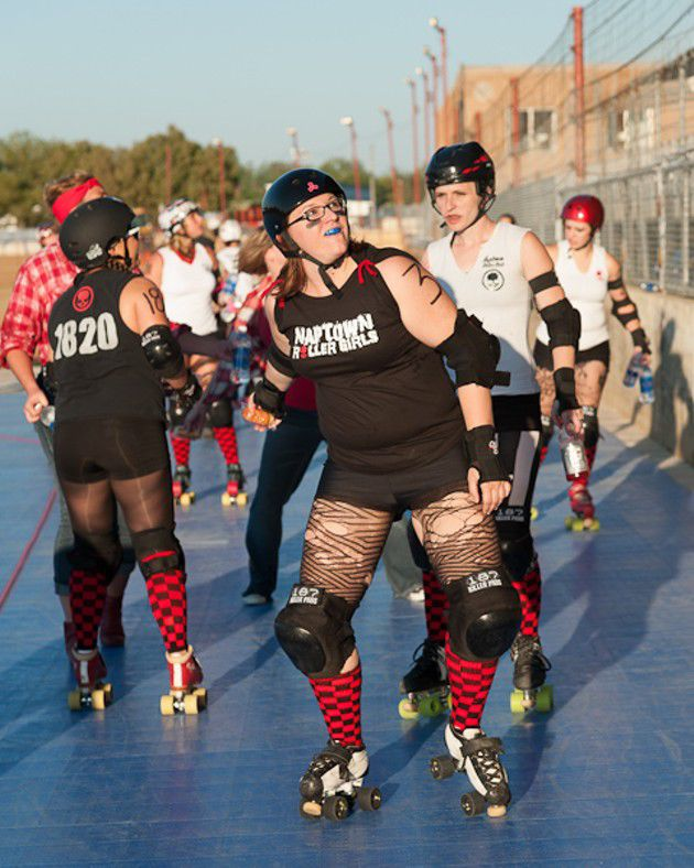 Naptown Roller Girls at the Indiana State Fair (Slideshow)