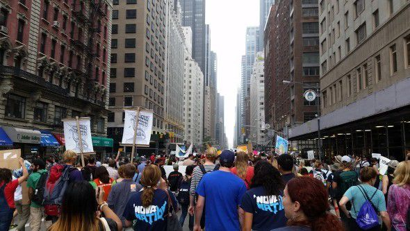 Hoosiers march for climate change