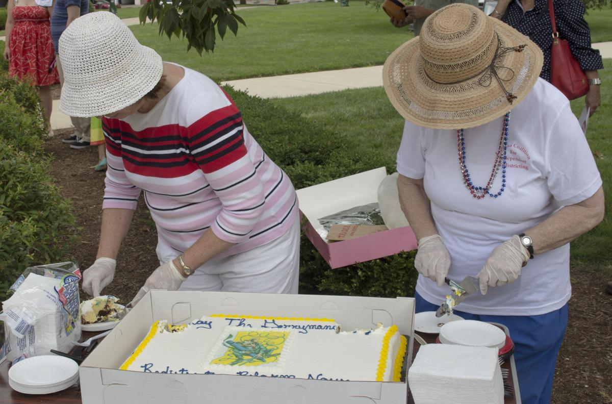Redistricting Rally- cake