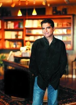 Deepak Chopra gives talk at Clowes Hall