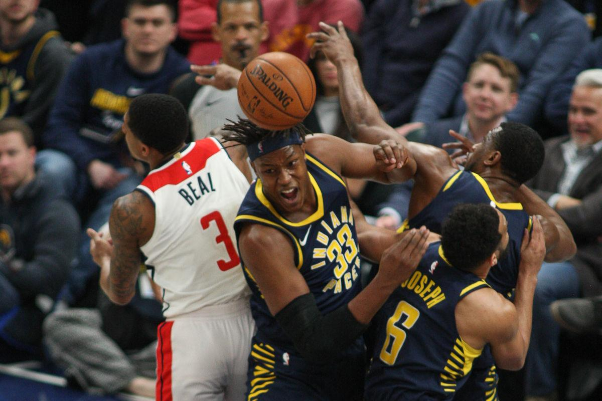 Pacers v. Wizards