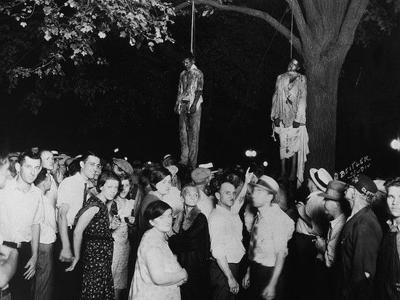 Strange Fruit meets Jesus' Crucifixion