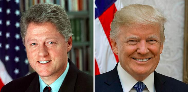 Bill Clinton / Donald Trump
