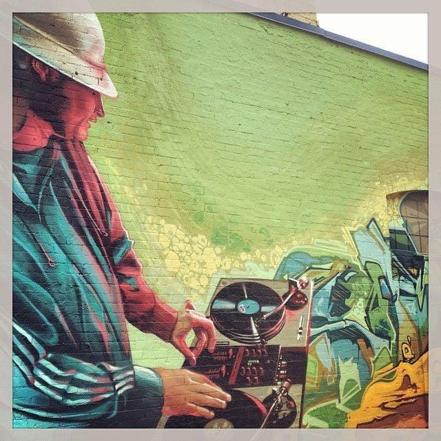 DJ Topspeed, muralized