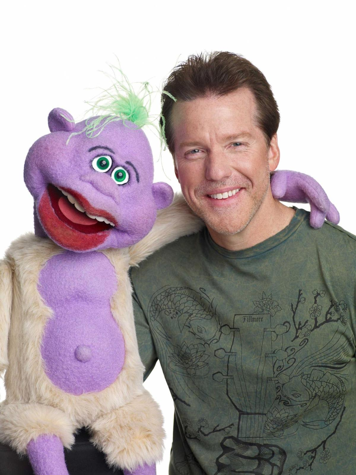 Jeff Dunham and his suitcase posse