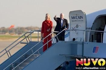 "McCain and guests ""Road to Victory\"" Rally In Indy"