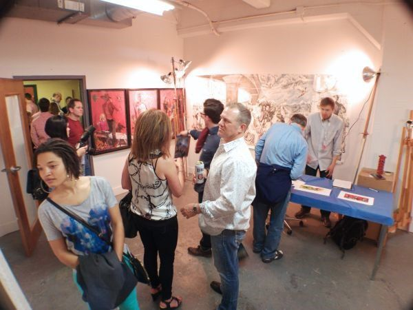 Scene from the 2015 Stutz Open House