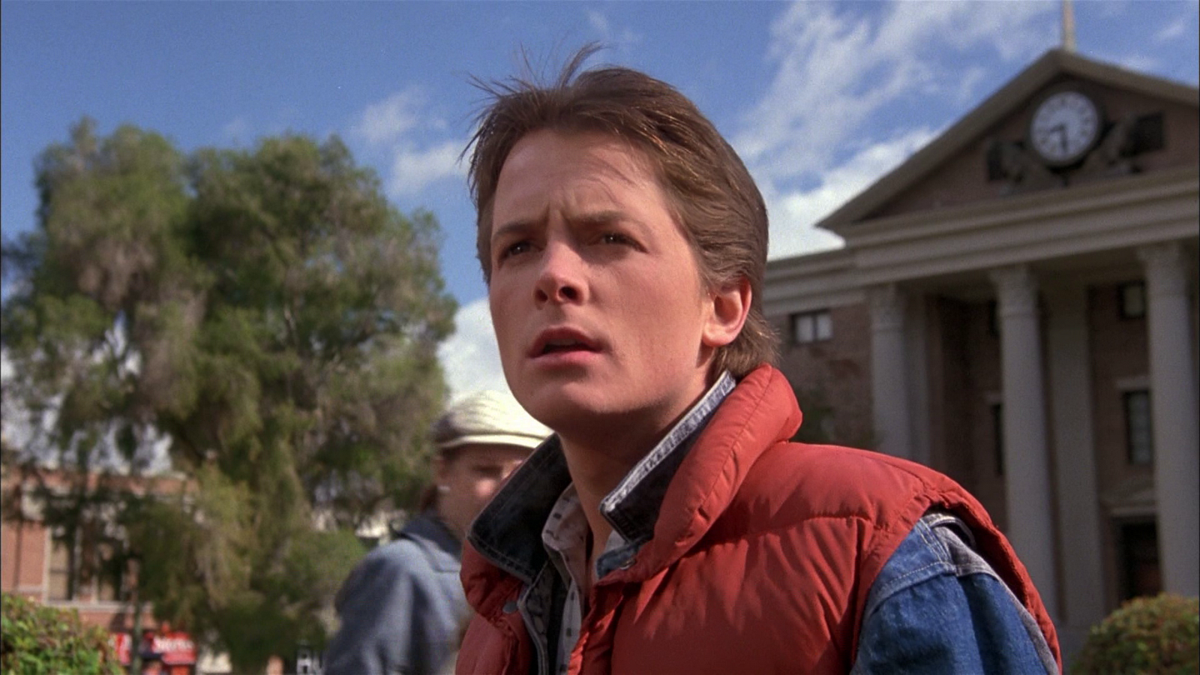 Back to the future, in reverse
