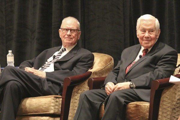 Lugar, Hamilton talk political civility at lieutenant governor's conference