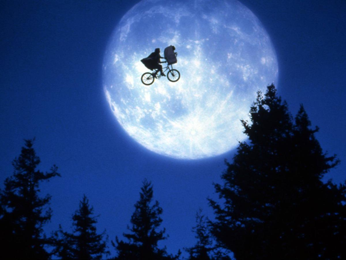 still from E.T. The Extra-terrestrial