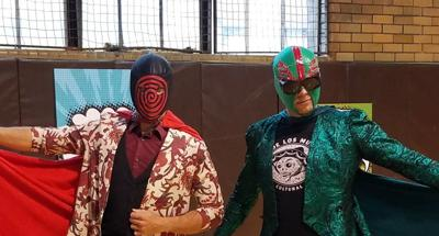Mexican Freestyle Wrestling (Lucha Libre) will be the Highlight of the Lucha Libro Festival at Central Library
