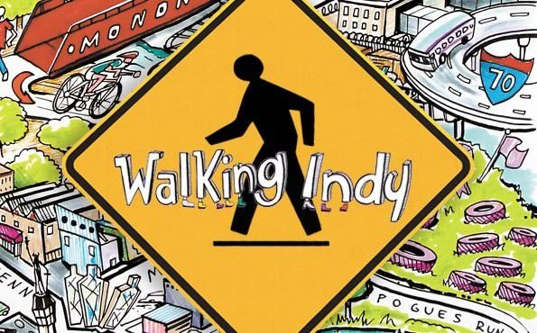 From 71st St. to the Circle and back — walking Indy